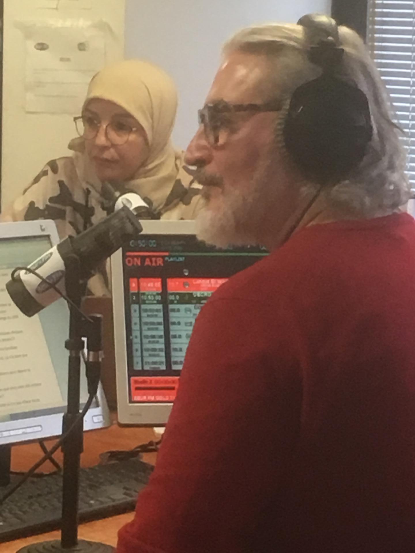 Beur FM, Nadia El Bouga et Philippe Robichon